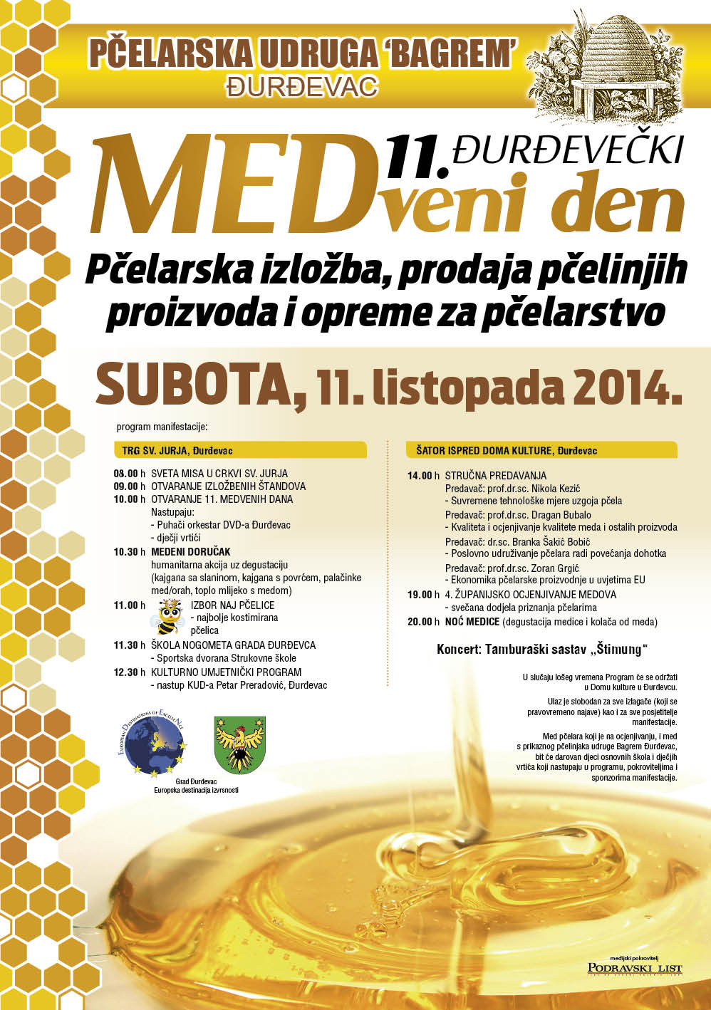 program - medveni den